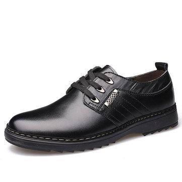 Hommes& Chaussures& à& lacets& en& cuir Oxford