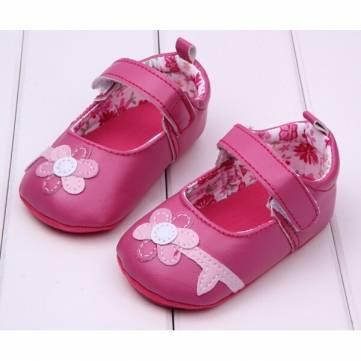Baby girl petite fleur chaussures princesse modèle de prewalker&