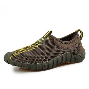 Chaussures de sport unisexes casual meh extérieur plat dérapant respirant chaussures de sport