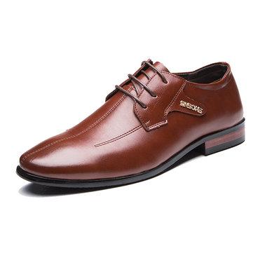 Chaussures& habillées& à& l'homme& en& coutures à la main en cuir véritable
