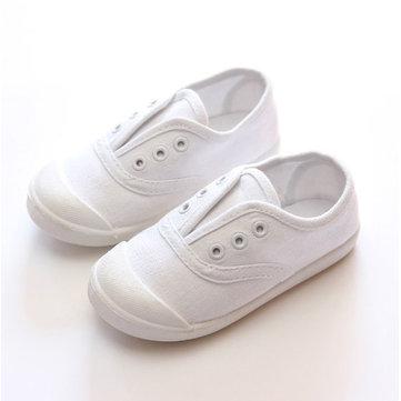 Enfants toile chaussures de sport garcons filles espadrille enfants silicium imperméable chaussures casual plat