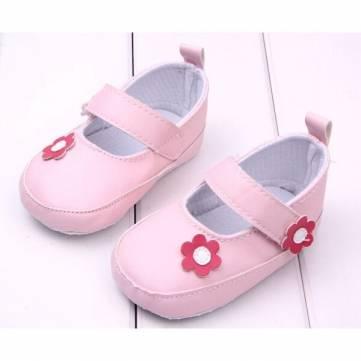 Petite fille fleurs décorée chaussures princesse bambin&