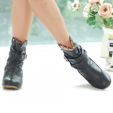 Nous taille 5-13 glisser sur les chaussures bout rond orteil court occasionnels pour les femmes