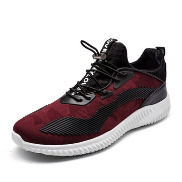 Chaussures de sport couple Running Casual Lace Up In Mesh