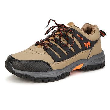 Des hommes nouveaux alpinisme randonnée extérieur étanche résistant à l'usure antidérapante sportives à semelle souple chaussures de course
