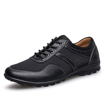 US Taille 6.5-11.5 Homme Chaussures Décontractées Oxfords En Cuir