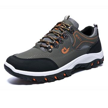 Hommes randonnée boucle métallique extérieur amortisseur antidérapant chaussures résistantes