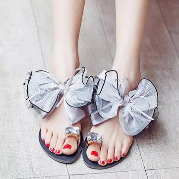 Nous taille fleur plage 5-11 femmes d'été en plein air causales appartements confortables sandales pantoufle