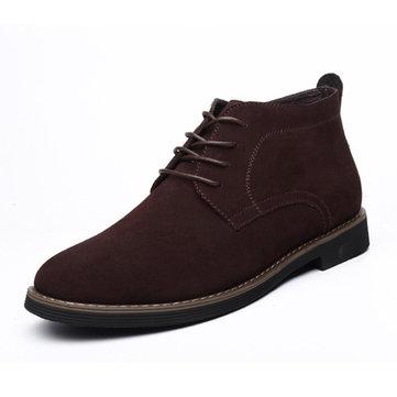 Dentelle en cuir souple affaires rond orteil oxfords chaussures formelles