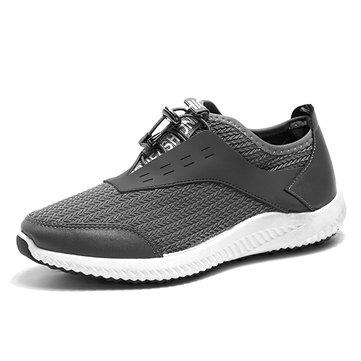 Chaussures& athlétiques& à& lacets& réglables& à l'envers pour hommes