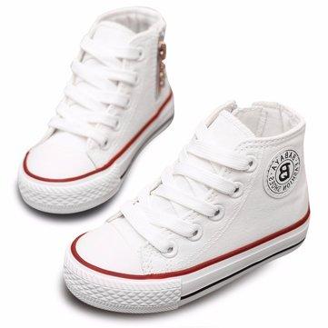 2016 enfants toile chaussures garcons filles espadrilles respirants étudiants chaussures de sport occasionnels