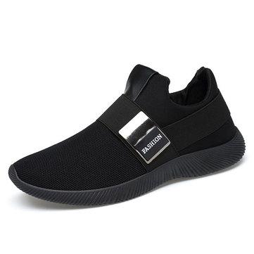 HommesConfortableElasticBandeSlipOn Casual Athlétique Chaussures