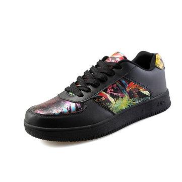 Sport unisexe running respirante lacets mode plein air casual chaussures d'athlétisme fleur