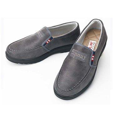 Oxfords hommes pu bas en haut bout rond enfiler affaires décontractée chaussures de plein air