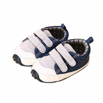 Nouveau-né, bébé, garcon, respirant, doux, unique, premier, marche, sports, chaussures
