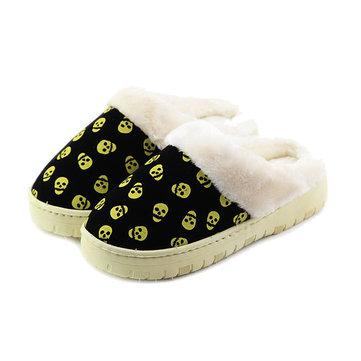 Unisexes occasionnels coton chaud chaussures à domicile quelques pantoufles chaussures de coton intérieur