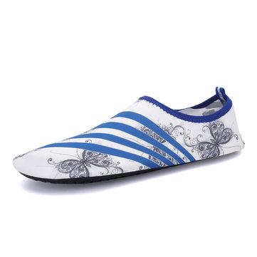 Unisexe semelle souple chaussures de natation respirant confortable Yoga chaussures plates