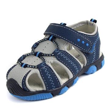 Garcons Sports de plein air sandales chaussures enfants enfants respirante causales plage découpe à plat chaussures d'été