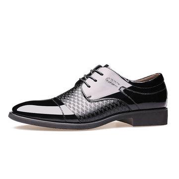 Hommes& Chaussures& En& Cuir
