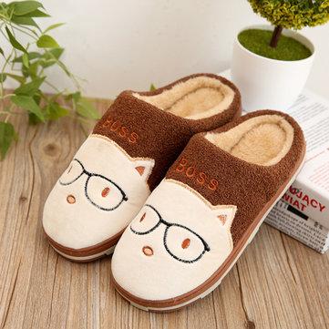 Accueil Femmes chaussures de carton coton pantoufles chaussures chaudes intérieur