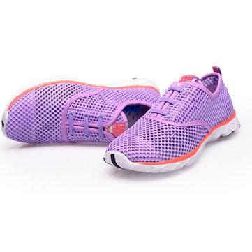 Le sport unisexe chaussures d'eau en plein air mesh respirant décontracté et confortable évider chaussures
