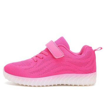Kids& Light& Up& LED& Chaussures& de sport Filles Boys Chaussures de baskets Chaussures flash