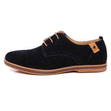 Chaussures en cuir pour hommes vêtements de travail marée grise