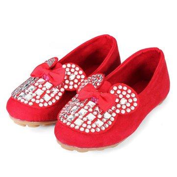 Chaussures fille arc baskets étincelle strass slip sur chaussures de pont enfants filles de jeunes enfants en bas age