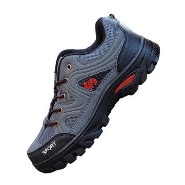 Nouvelle mode pour hommes imperméable et respirante casual antidérapante extérieure randonnée alpinisme chaussures pu sport