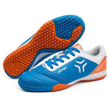 Lacer goujons d'absorption chaussures de football de football respirant