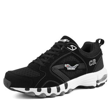 Taille nous 6.5-10.5 hommes de plein air chaussures de course maille lacent appartements casual chaussures de sport confortable