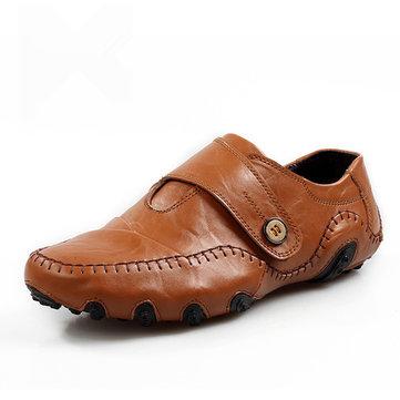 Hommes Chaussures en cuir souple en cuir souple et respirant
