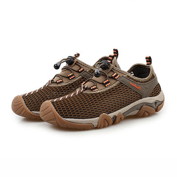 Chaussures de Sport Extérieures Chaussures Respirables Elastiques Slip-on Pour Homme