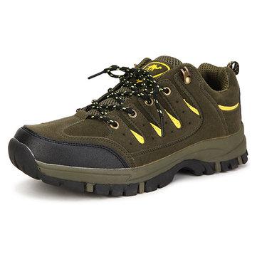 Nouveaux hommes mode breathable décontractée chaussures sportives d'alpinisme résistantes à l'usure supérieures basses en plein air antidérapantes
