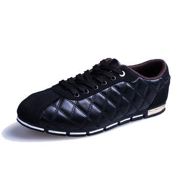 Lacer semelle respirante couleur pure chaussures de sport chaussures de sport doux