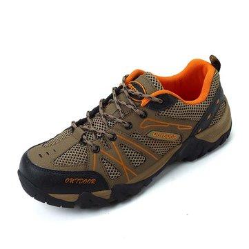Nous taille chaussures 6.5-11 hommes sport course maille en coton mélangé baskets de randonnée légers