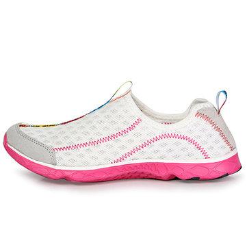 Unisexe chaussures de sport eau chaussures respirante extérieur mesh confortable chaussures de sport occasionnels