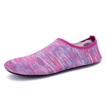 Piscine d'été unisexe non-dérapant respirant confortable et décontracté Yoga chaussures plates