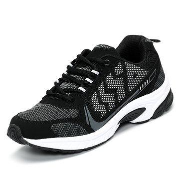 Taille nous 6.5-11.5 hommes occasionnels chaussures de sport en plein air lacent courir appartements respirant