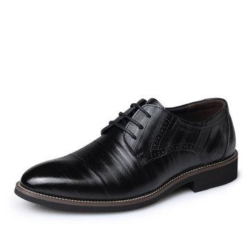 Maille robe a formelles plat lacent chaussures d'affaires