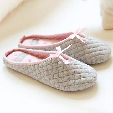 Femmes hiver faux fourrure peluche en coton chaussures à domicile à l'intérieur