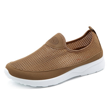 Hommes& Breathable& Hollow& Out& Soft& Sole Flats