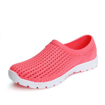 Women Casual Hollow Out Chaussures extérieures respirantes à l'extérieur