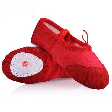 Le ballet de danse chaussures de gymnastique fille femmes toile douce pantoufles de remise en forme