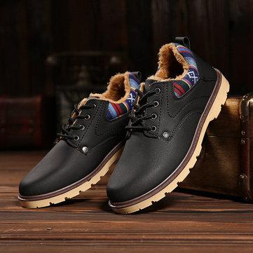 Style britannique respirant la dentelle casual récréatif jusqu'à chaussures oxford