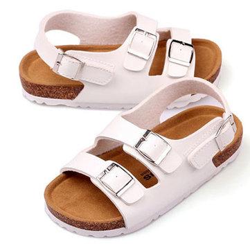 Enfants liège Roman chaussures garcons filles casual sandales enfants plage d'été sandale