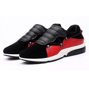 Hommes Sport courir appartements occasionnels en plein air à faible dentelle top de la mode jusqu'à chaussures de sport confortables