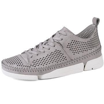 Hommes Chaussures athlétiques à lacets en cuir à lacets