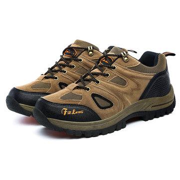 US Taille 6.5-11 Hommes Chaussures de Sport de Plein Air Chaussures de Course et Alpinisme Décontractées Confortables