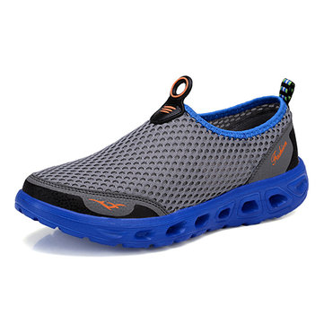 Hommes Hollow Out Casual Sport Chaussures En Engrener